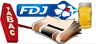 Fonds de commerce Bar Tabac, Presse, FDJ, Banque...